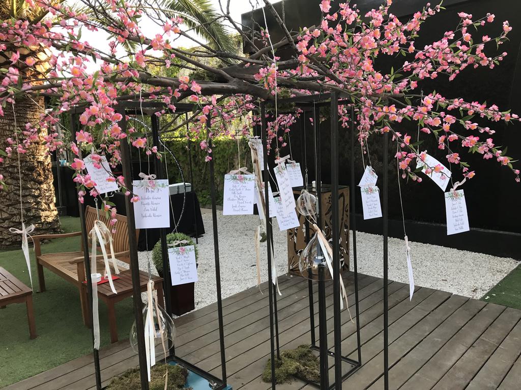 La decoraci n de los jardines para bodas con gusto en - Jardines decorados para fiestas ...