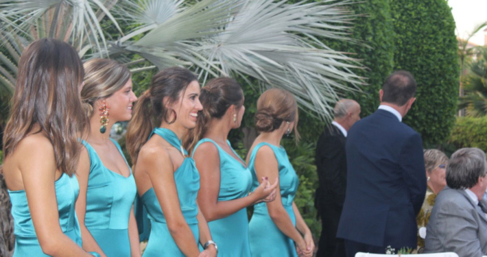 Damas de honor boda Quinta Lacy