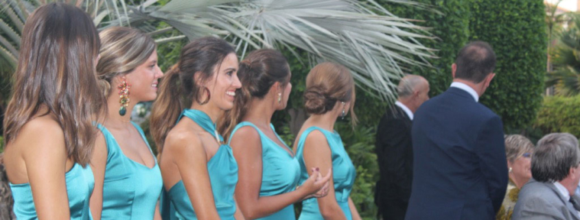 Damas de honor boda Quinta Lacy