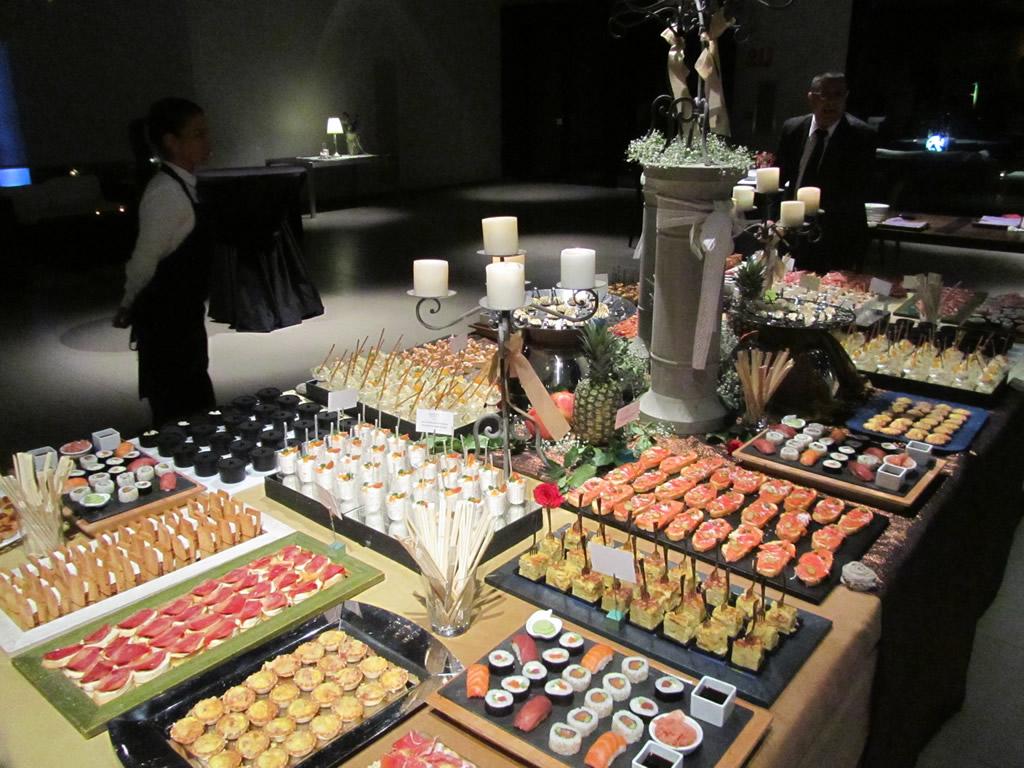 Has pensado en la opción de buffet para el menú de tu boda? - Quinta ...